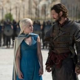 Game of Thrones Season 4 Daenerys Targaryen y Daario Naharis