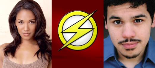Candice Patton y Carlos Valdés se unen al piloto de 'Flash'.